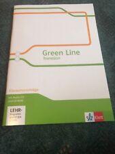 Green Line Transition. Klausurvorschläge