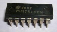 MM74C02N Quad 2 input NOR gate PDIP14