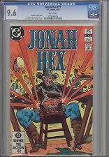 Jonah hex #71  CGC 9.6 1983 DC  Comic