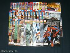 PETER PARKER SPIDER-MAN # 1 - 38 KOMPLETT - PANINI 2001 - 2004 - TOP