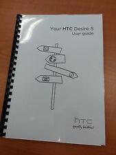 Htc Desire S Completo Impreso Manual de usuario Guía 208 páginas A5