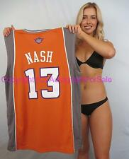 Steve Nash Phoenix Suns authentic Adidas orange game model stitched #13 jersey