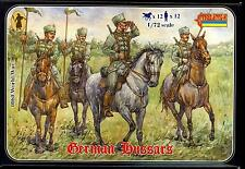 Strelets Models 1/72 World War I German Hussars Mounted Figure Set