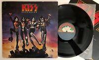 Kiss - Destroyer - 1976 US 1st Press Blue Casablanca Labels NBLP 7025 (NM-)