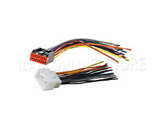 Car Factory Radio Install Reverse Male & Female Wire Wiring Harness Cable Plug