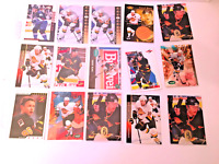 Lot of 15 Pavel Bure Trading Cards