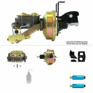 """1948-1952 Ford Truck F1 Frame Mount Power 7"""" Single Brake Booster Kit Disc/Disc"""