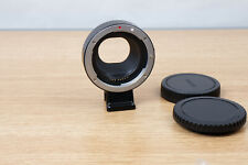 Fotodiox EF EF-S to EOS-M Lens Mount Adapter Ring for EOS M3 M5 M6 M50 M10 M100