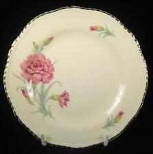 Wood & Sons 'Ivory Ware' Pink Carnation Side Plate