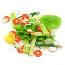 Miniatura Para Casa De Muñecas Suelto ensalada Paquete