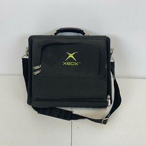 XBox Original Official Console Carrying Case Bag Black