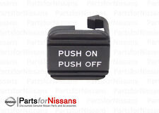 GENUINE NISSAN PARKING BRAKE PEDAL PAD ALTIMA MAXIMA TITAN ROGUE QUEST PATHFINDE
