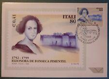 MAXI CARD -  FDC - E. FONSECA PIMENTEL- 1999