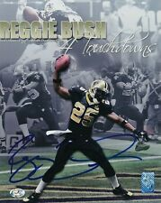 Reggie Bush Saints Signed 8x10 Photo Autograph Auto RB Authentic