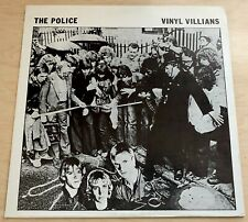THE POLICE Vinyl Villians (1979) LP Impossible Recordworks LIVE Rare