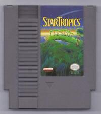 Vintage Nintendo Star Tropics  Video Game NES Cartridge VHTF