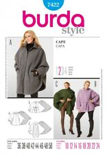Burda Style Easy SEWING PATTERN 7422 Misses Cape Sizes 10-24