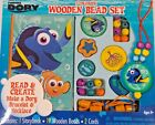 Finding Dory Storybook Wooden Bead Set Ages 4 New