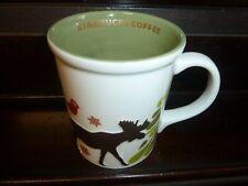 Starbucks 2010 Christmas Mug Deer Trees Good Condition Rare & Hard to Find