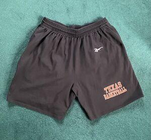 Texas Longhorns Black Reebok Cotton Shorts Size XXL