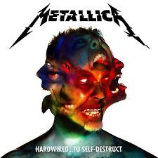 METALLICA HARDWIRED TO SELF DESTRUCT 3 x COLOURED VINYL LP BOXSET NEW (18TH NOV)