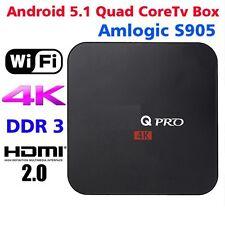 M-XQ Pro Amlogic S905 Quad Andorid 5.1 TV BOX 1GB/8GB 4K FULL