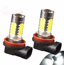 2x High Power Led White H11 Fog Lights Lamps For BMW E90 325 328 335i, No error