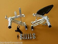 HONDA NC30 NC35 TYGA CNC MACHINED REARSETS STEP KIT FOOTRESTS VFR400 RVF400