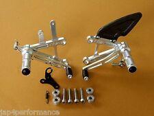 HONDA NC30 NC35 TYGA CNC MACHINED REARSETS STEP KIT FOOTRESTS VFR400 RVF400