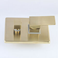 Brass 2 Ways Valve Mixer Bathroom Shower Faucet Accessory Concealed Brushed Gold