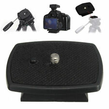Universal Quick Release Plate Mount Tripod Head For DSLR SLR Digital Camera