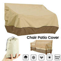 Waterproof Outdoor High Back Patio Long Chair Cover Protection Furniture HOT