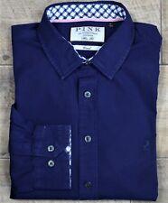 Thomas Pink ~ M ~ navy blue, slim fit, casual shirt