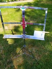 Ex Army music stand - huge and heavy (#9)