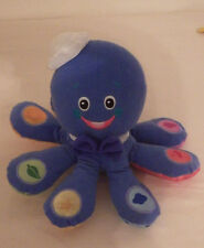 Baby Einstein Octopus Musical Developmental Baby Toy 3 Languages Plush Works