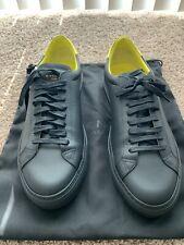Givenchy 'Urban Knot' Black Leather Sneaker Size 12 EU45