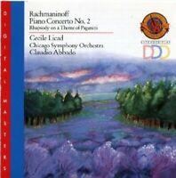 Rachmaninov: Piano Concerto No. 2 / Rhapsody on a Theme of Paganini - Claudio Ab