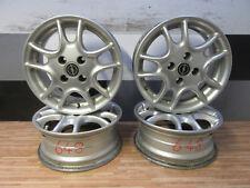 4x Original Opel ALUFELGEN + 6j x 15 ET42 + 4x100 + Silber + Opel + KBA 43648