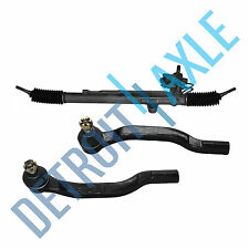Complete Power Steering Rack and Pinion + (2) New Outer Tie Rods for Acura TL