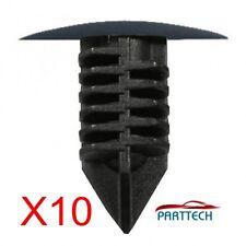 RENAULT MEGANE CLIO SCENIC WHEEL ARCH COVER FASTENER CLIPS TRIM X10