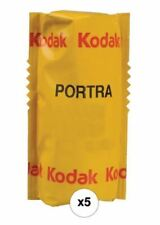 Kodak Professional Portra 160 Color Negative Film 120 Roll Film 5-Pack USA