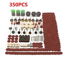 Kit 350X Accessoire Polissage Ponçage Gravure Foret Mandrin Pour Dremel Rotatif