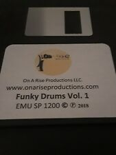 EMU SP1200 -- FUNKY DRUMS VOLUME 1  -- WE MADE IT FUNKY!!!! (ON SALE!!!!)