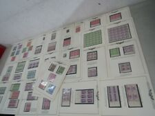 Nystamps G Much mint NH US stamp plate block collection Minkus page