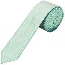 Hand Made Mint Green Neat Skinny Men's Neck Tie Wedding Tie Prom Tie Regular Tie