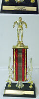 UNDER THE DOME set used prop~ Men's Swimming TROPHY Chester's Mill High School