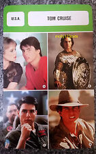 US Golden Globe Actor Filmmaker Tom Cruise French Film Trade Card
