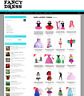 FANCY DRESS WEBSITE - SALES - 1 YEARS HOSTING & NEW DOMAIN - ECOMMERCE AT HOME