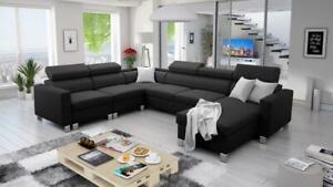 Brand New Corner Sofa Bed With Storage Loretto VII