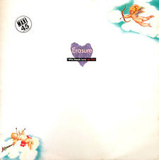 "Erasure ‎12"" Who Needs Love Like That - France (VG+/EX)"